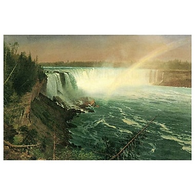 Niagara by Bierstadt, Canvas, 24