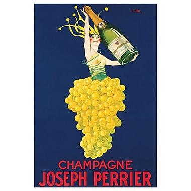 Champagne Joseph Perrier, Stretched Canvas, 24