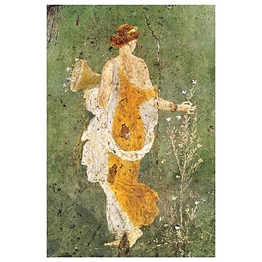 Pompeian Art - Primavera, Stretched Canvas, 24