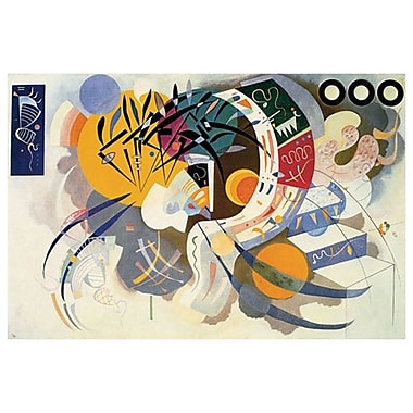 Courbe Dominante by Kandinsky, Canvas, 24