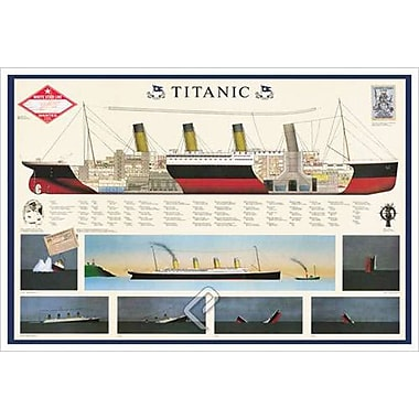 Titanic, Stretched Canvas, 24