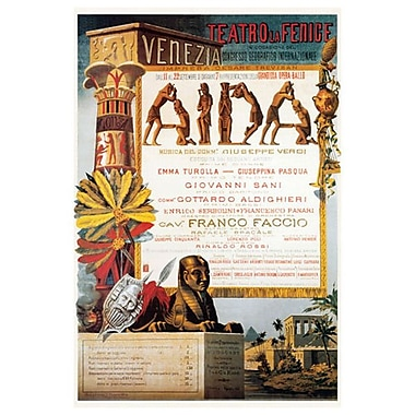 Aida by Verdi, Canvas, 24