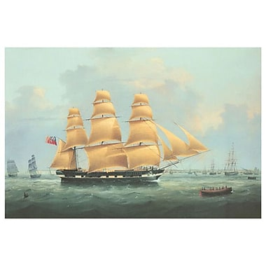 Walters A British Merchantma, Stretched Canvas, 24