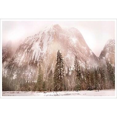 Au-delà de la forêt de Davis, toile de 24 x 36 po