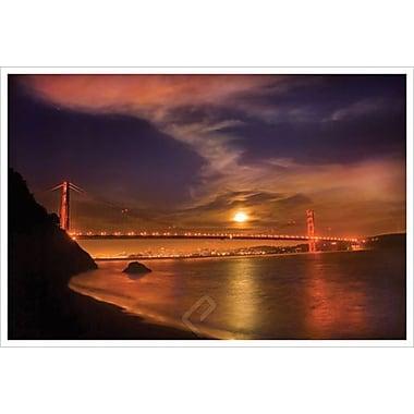 Golden Gate Moonrise by Davis, Canvas, 24