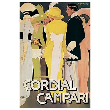 Cordial Campari by Dudovich, Canvas, 24