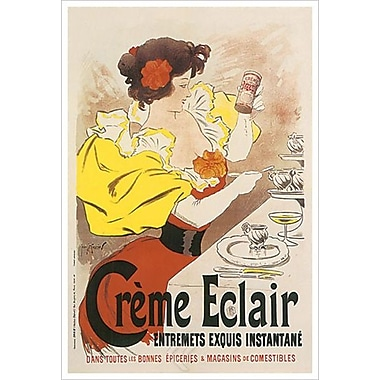 Creme Eclair Entremets Exquis, Stretched Canvas, 24