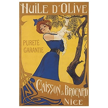 Huile d'Olive Caisson by Gimello, Canvas, 24