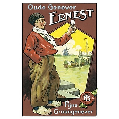 Oude Genever Ernest, Stretched Canvas, 24