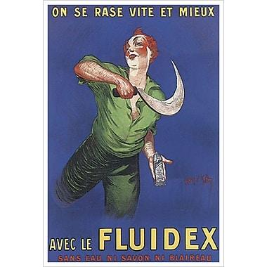 Fluidex de D'Ylen, toile, 24 x 36 po