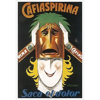 Cafiaspirina by Mauzan, Canvas, 24