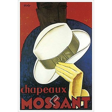 Chapeaux Mossant, Stretched Canvas, 24