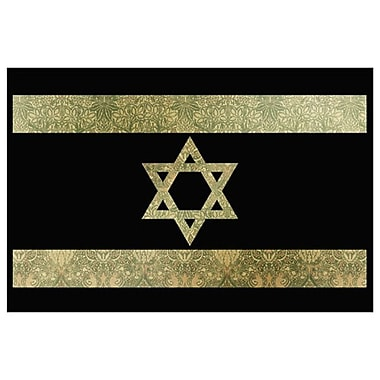 The Shield of David, Stretched Canvas, 24
