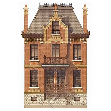 Victorian House 7, Stretched Canvas, 24