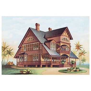 Victorian House 14, Stretched Canvas, 24