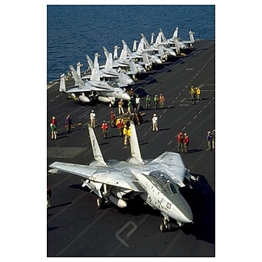 Airplane-F-14 Tomcat, Stretched Canvas, 24