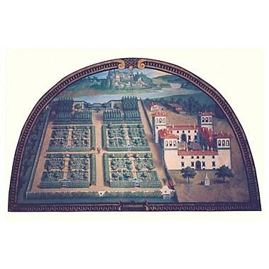 Villa Ambrogiana de Van Utens, toile, 24 x 36 po