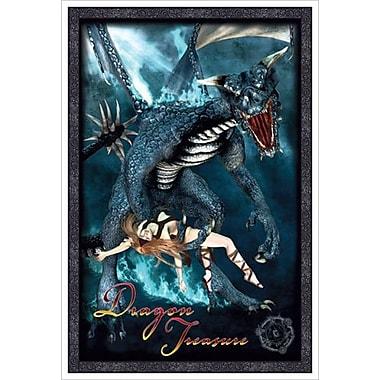 Dragon Treasure, toile tendue, 24 x 36 po