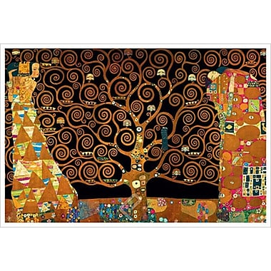 Tree Life Interpretation de Klimt, toile, 24 x 36 po