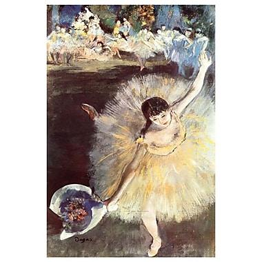 Ballerina de Degas, toile prête à suspendre, 24 x 36 po