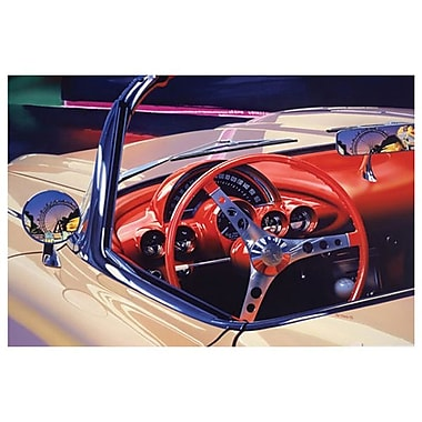 Corvette 1958 by Reynolds, Canvas, 24