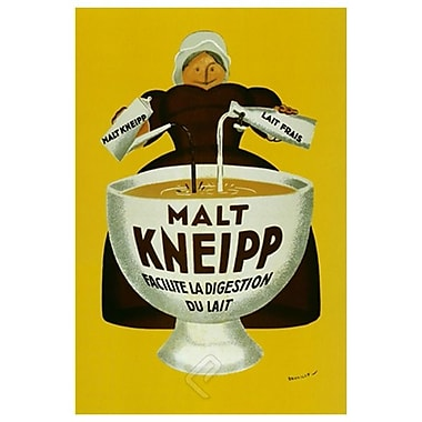 Malt Kneipp by Beuville, Canvas, 24