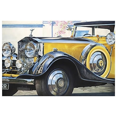Rolls Royce Phantom by Reynolds, Canvas, 24