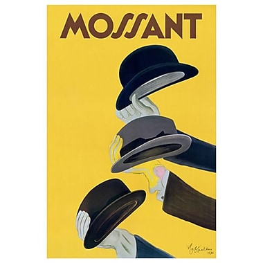 Chapeau Mossant by Cappiello, Canvas, 24