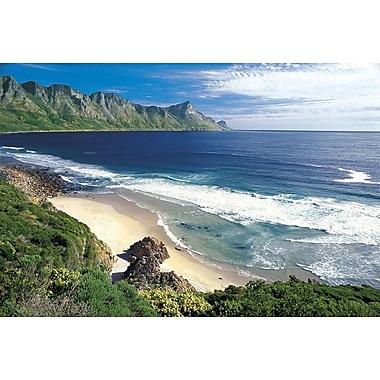 False bay, Afrique du Sud, toile tendue, 24 po x 36 po