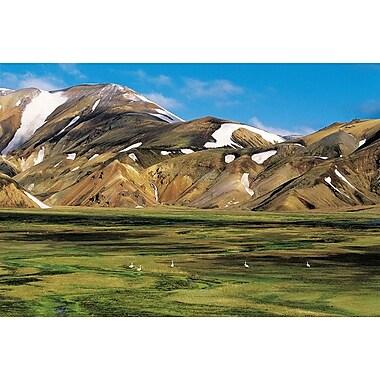 Landmannalaugur Iceland, Stretched Canvas, 24