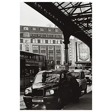 Taxi londonien, toile tendue, 24 po x 36 po