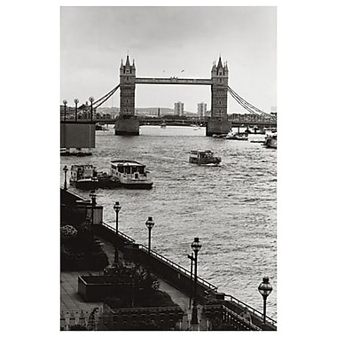 Tower Bridge de Londres, toile tendue, 24 po x 36 po