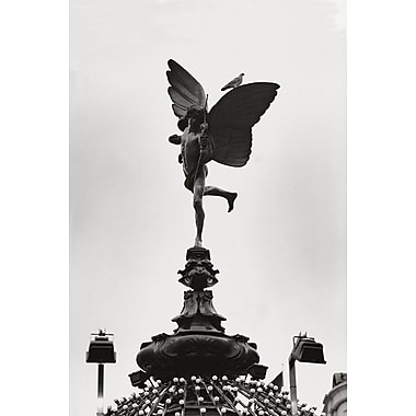Eros Statue London, Stretched Canvas, 24