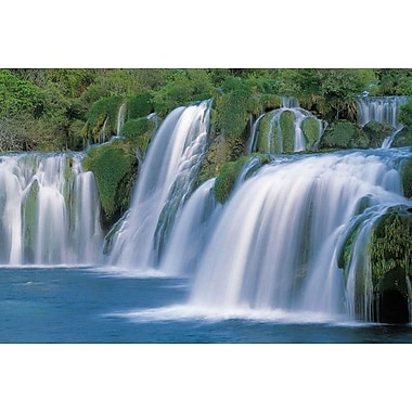 Krka Waterfalls Croatia, Stretched Canvas, 24