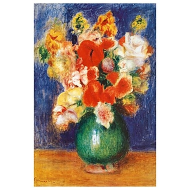 Bouquet de Fleurs by Renoir, Canvas, 24