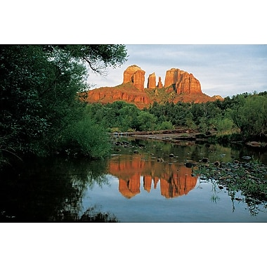 Cathedral Rock Arizona, Stretched Canvas, 24