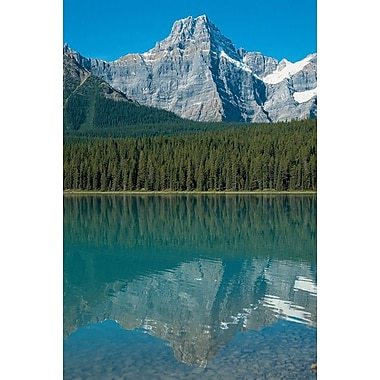 Rocky Mountains Alberta, Stretched Canvas, 24