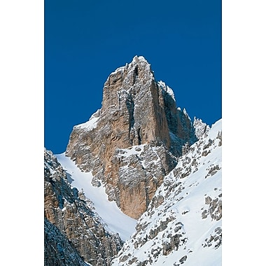 Cristallino d'Ampezzo, Italie, toile tendue, 24 x 36 po