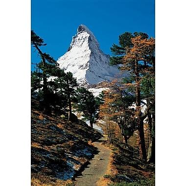 Schreckhorn Berner Oberland, Stretched Canvas, 24
