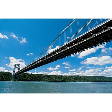 George Washington Bridge, toile tendue, 24 x 36 po