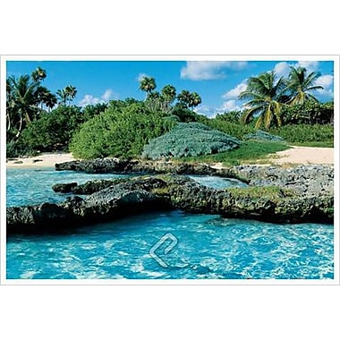 Paradise Island, Stretched Canvas, 24