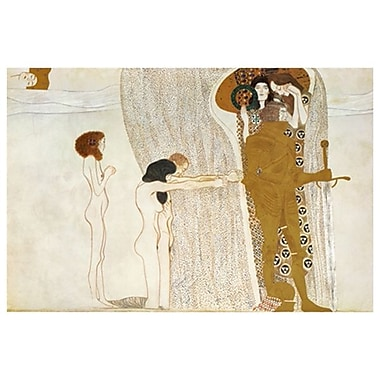 Desire for Happiness by Klimt, Canvas, 24