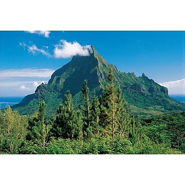 Moorea Island French Polynesia, Stretched Canvas, 24