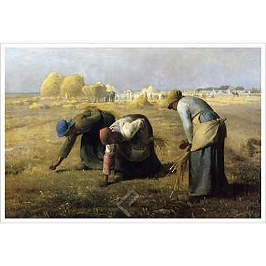 Les Glaneuses by Millet, Canvas, 24
