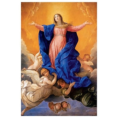 Ascension of Mary by Reni, Canvas, 24