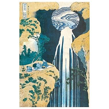 Cascade of Amida by Katsushika, Canvas, 24