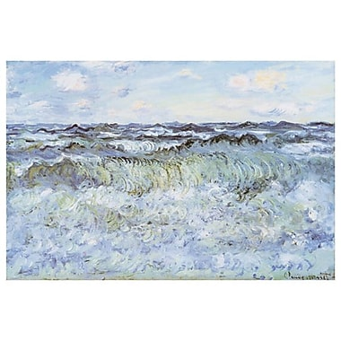 Seascape by Monet, Canvas, 24