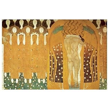 Beethoven Frieze by Klimt, Canvas, 24