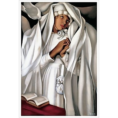 La Communiante by Lempicka, Canvas, 24