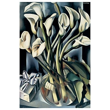 Arums II by Lempicka, Canvas, 24